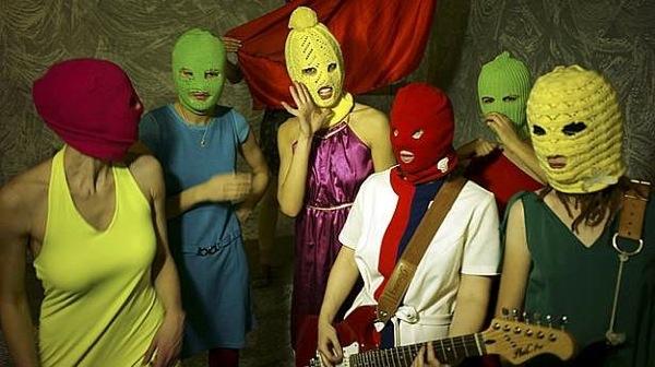 Pussy Riot by Igor Mukhin via Wikimedia