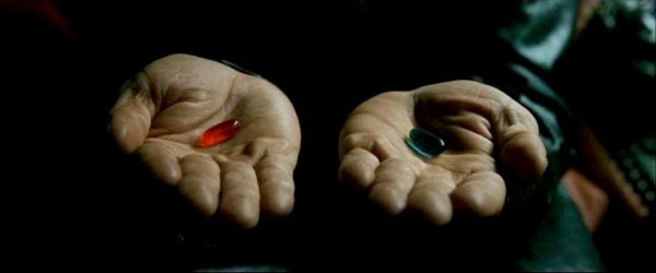Red pill or blue pill1